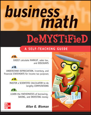 Business Math Demystified By Bluman, Allan G.